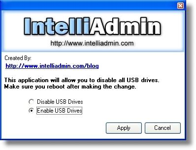 Download USB Drive Disabler