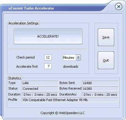 Download uTorrent Turbo Accelerator