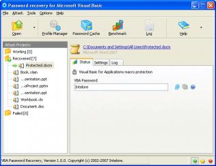 Download VBA Password Recovery Professional