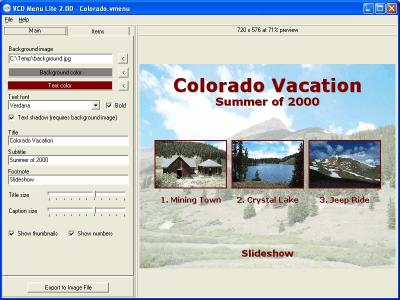 Download VCD Menu Lite