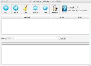 VeryPDF CHM to PDF Converter for Mac