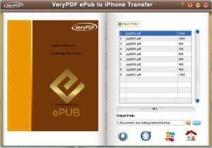 VeryPDF ePub maker