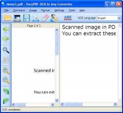 VeryPDF OCR to Any Converter
