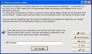 Download Video Screensaver Maker