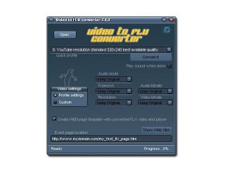Download Video to FLV Converter