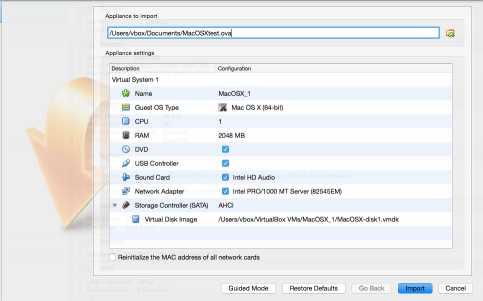 VirtualBox for Mac