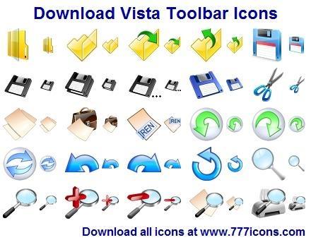 Download Vista Toolbar Icons