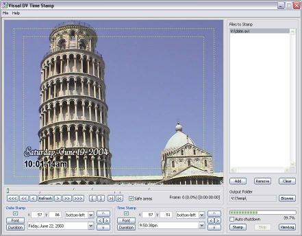 Download Visual DV Time Stamp