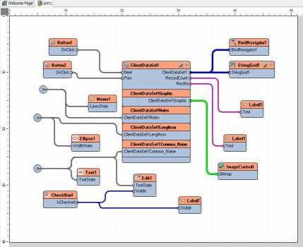 Visual Live Binding for Delphi