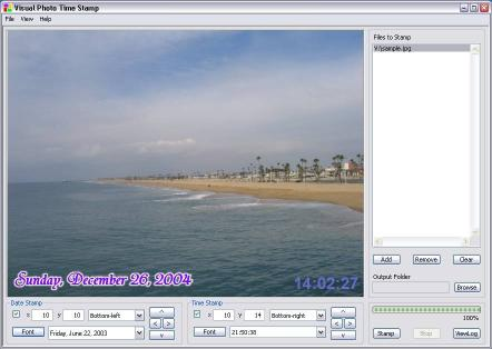 Download Visual Photo Time Stamp