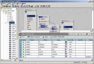 Download Visual SQL-Designer Light