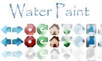 Download Water Paint Thene For Firefox