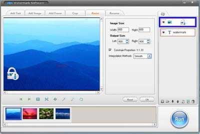 Watermarking Software