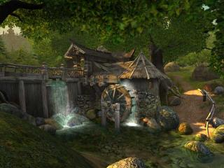 Download Watermill 3D Screensaver