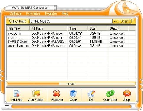 Download WAV To MP3 Converter