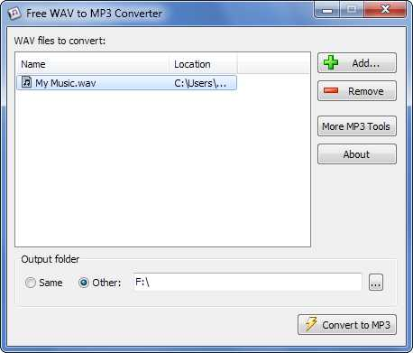 Download WAV to MP3 Converter Free