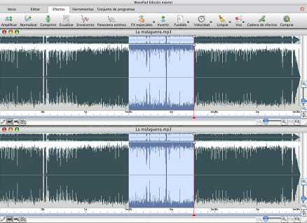 WavePad Editor de Audio para Mac gratis