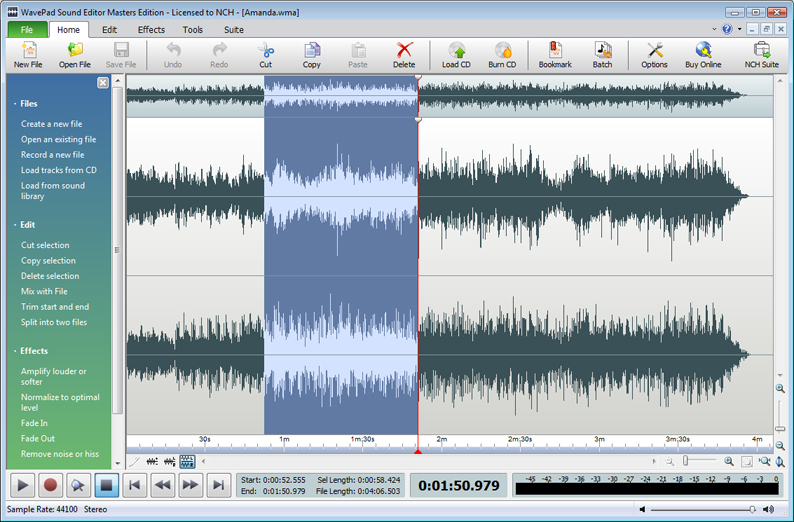 sound editor software free download full version