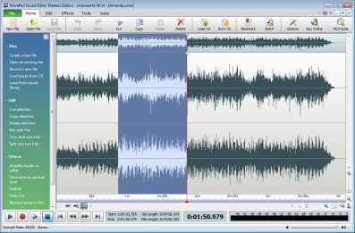 Download Wavepad Free Audio Editing Software