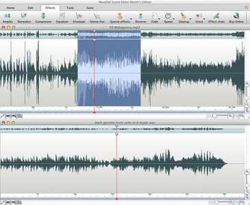 Wavepad Free Audio Editor for Mac