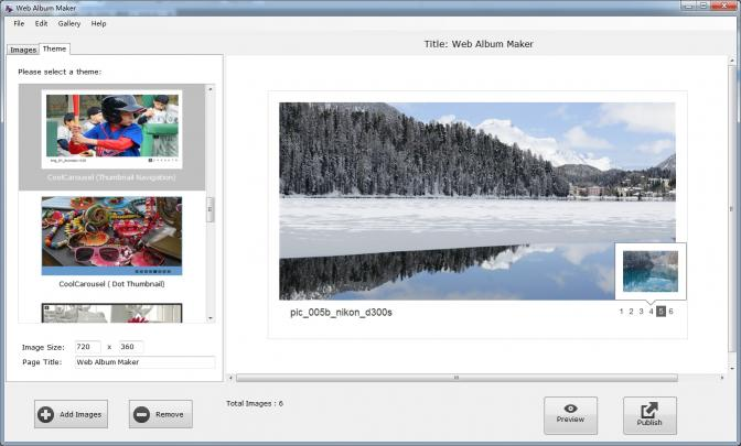 Download Web Album Maker