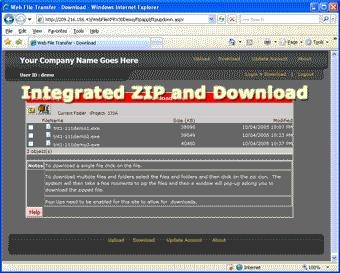 Download Web File Transfer