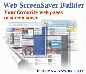 Download Web Screen Saver Builder