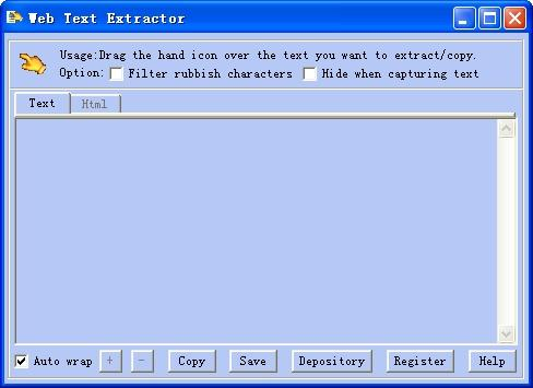 Download Web Text Extractor