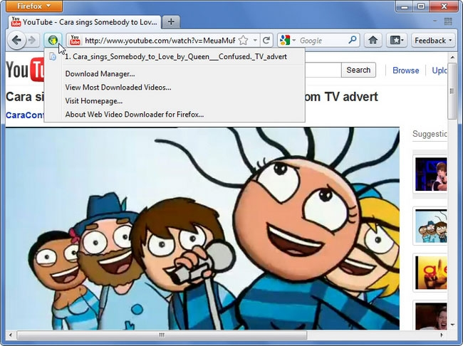 Web Video Downloader for Firefox (Linux