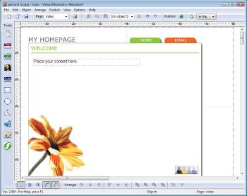 Download WebDwarf Free Web Page Maker