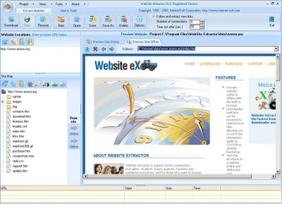 Download Website Extractor