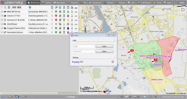 Wialon GPS Tracker