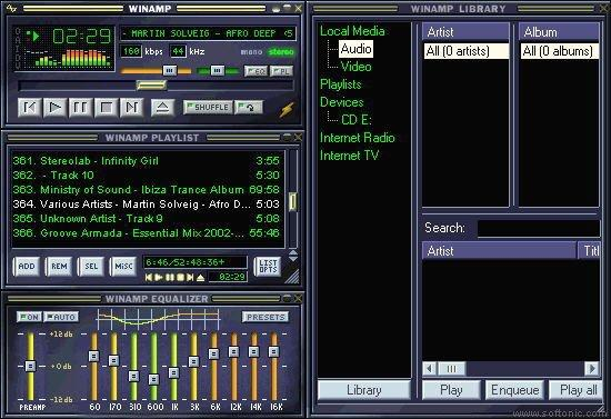 Winamp old version