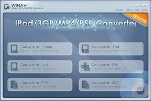 Download WinAVI 3GP/MP4/PSP/iPod Video Converter