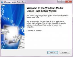 Download Windows Media Codec Pack