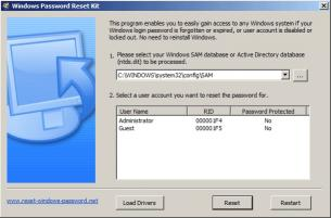 Download Windows Password Reset Kit