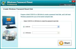 Download Windows Password Reset Professional
