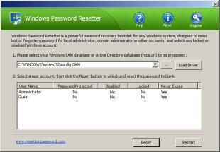 Download Windows Password Resetter