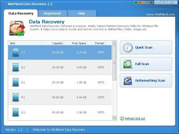 Download WinMend Data Recovery