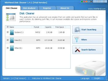 Download WinMend Disk Cleaner