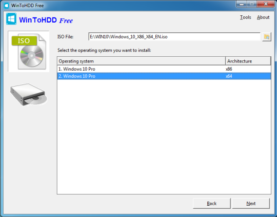 WinToHDD by Hasleo Software - standaloneinstaller com