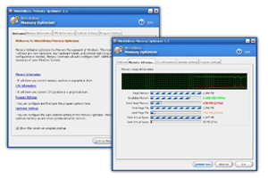 WinUtilities Memory Optimizer