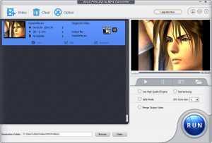 WinX Free AVI to MP4 Converter