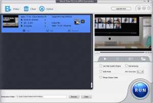 WinX Free FLV to MP4 Converter