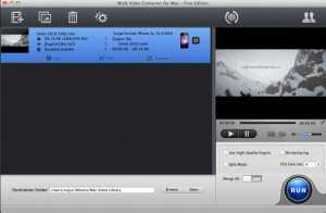 WinX Free Video Converter for Mac