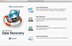 Wondershare Data Recovery for Mac