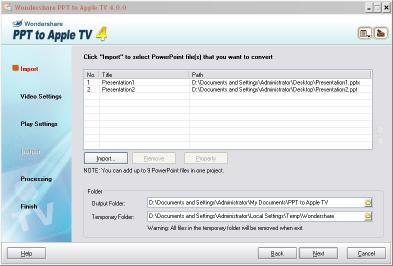 Download Wondershare PPT to Apple TV
