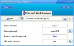 Download Word Password Recovery Master