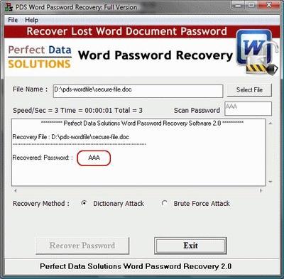 Download Word Password Unlocker Software