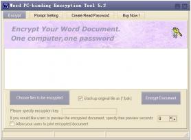 Download Word PC-binding Encryptor
